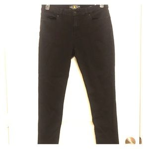 Black Lucky Brand Sasha Super Skinny Jeans